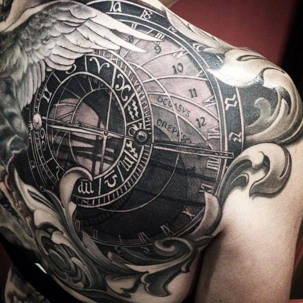 Astronomical Clock Tattoo: 17 Best Images About Tattoo Ideas On Pinterest