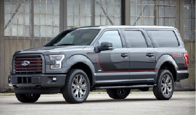 2017 Ford Expedition - facelift front  I would buy that