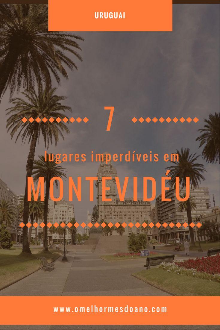 Roteiro em Montevidéu. O que fazer em Montevidéu. Imperdíveis na capital uruguaia. Ciudad Vieja e bairros centrais. Plaza Independencia e Teatro Solis.