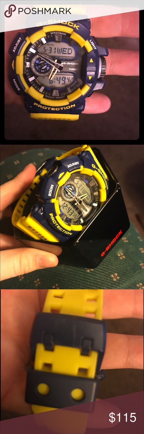 G-Shock Watch Warriors Colors G-Shock Watch Rare Item Excellent Condition G-Shock Accessories Watches