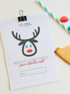 Voici la version pour les plus petits, du carnet d'activités de Noël à imprimer de Momes ! Vous y trouverez des jeux, des coloriages, des recettes et plein de petites surprises pour attendre le petit papa Noël !