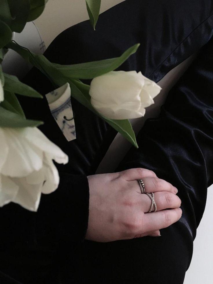 Styling by amalieschultz showing Cross Zirconia ring Silver and Infinity Zirconia Half Ring Grey Rhodium #jewellery #Jewelry #bangles #amulet #dogtag #medallion #choker #charms #Pendant #Earring #EarringBackPeace #EarJacket #EarSticks #Necklace #Earcuff #Bracelet #Minimal #minimalistic #ContemporaryJewellery #zirkonia #Gemstone #JewelleryStone #JewelleryDesign #CreativeJewellery #OxidizedJewellery #gold #silver #rosegold #hoops #armcuff #jewls #jewelleryInspiration #JewelleryInspo…
