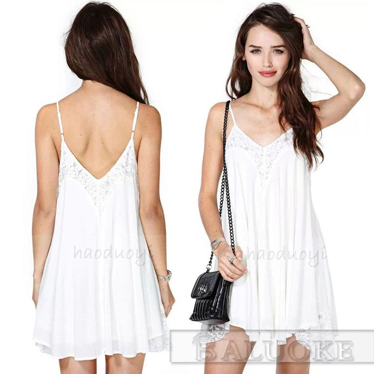 Cheap swing gate control board, Buy Quality swing set baby swing directly from China swing light Suppliers: 	Hot Sale Women Spaghetti straps White chiffon Swing Cami Dress with Lace Size M L XL High Quality 6408# 	Hello Cus