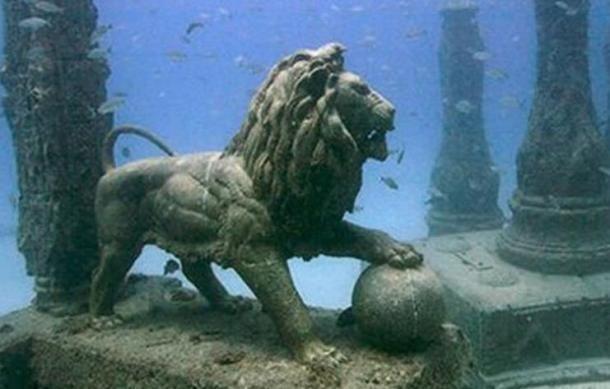 Thonis-Heracleion - Cidade egípcia encontrada embaixo d'água