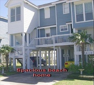 Galveston  Per night $120 - $230Beach Home, Ocean Views, Full Bathroom, Br Galveston, Beach Vacations, Frm Balconies, Internet Galveston, Free Internet, Bathroom Beach