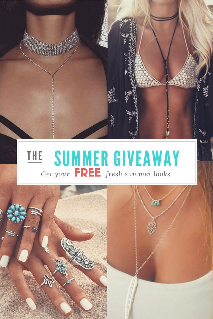 Biggest Summer Giveaway Free!! All Jewelry for $0.00 Storewide at: https://jewelrycentral.myshopify.com/