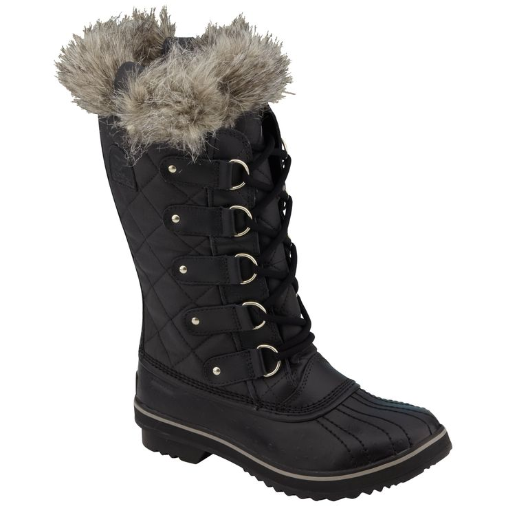 Sorel Women's Tofino Winter Boots - BLACK