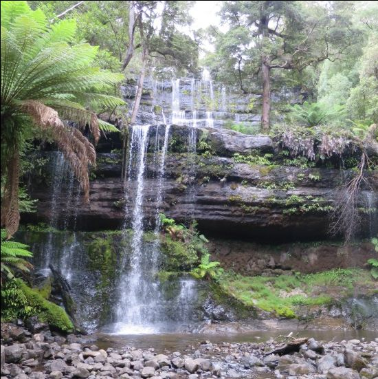 Russell Falls, Tasmania | Snapshot Inspiration: My favourite bits of Tassie | On the Road to Travel