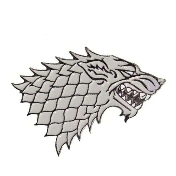 Game of Thrones House Stark Sigil I'm loving this.