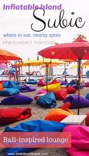 Inflatable Island Subic, The Floating Beach Resort in Zambalesby Best of World Travel