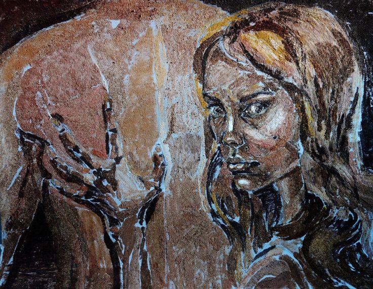 Painting for sale figurative art portrait