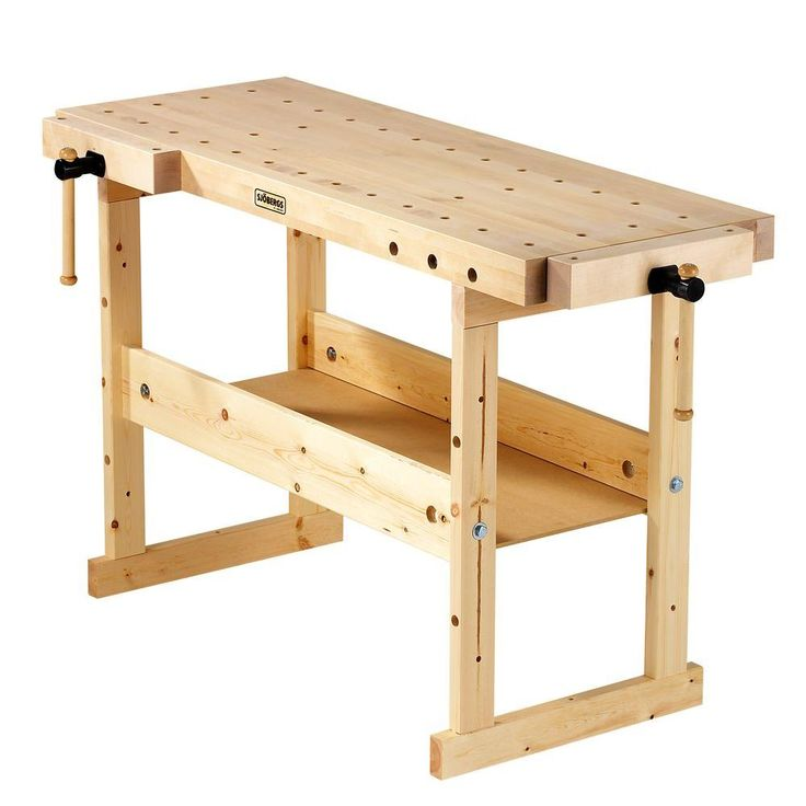 Sjobergs 62 in. Nordic Plus Workbench-SJO-33448 at The Home Depot