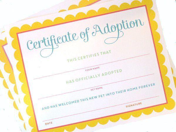 Pet Adoption – Adopt a pet birthday party printables – Iris' 5th Birthday