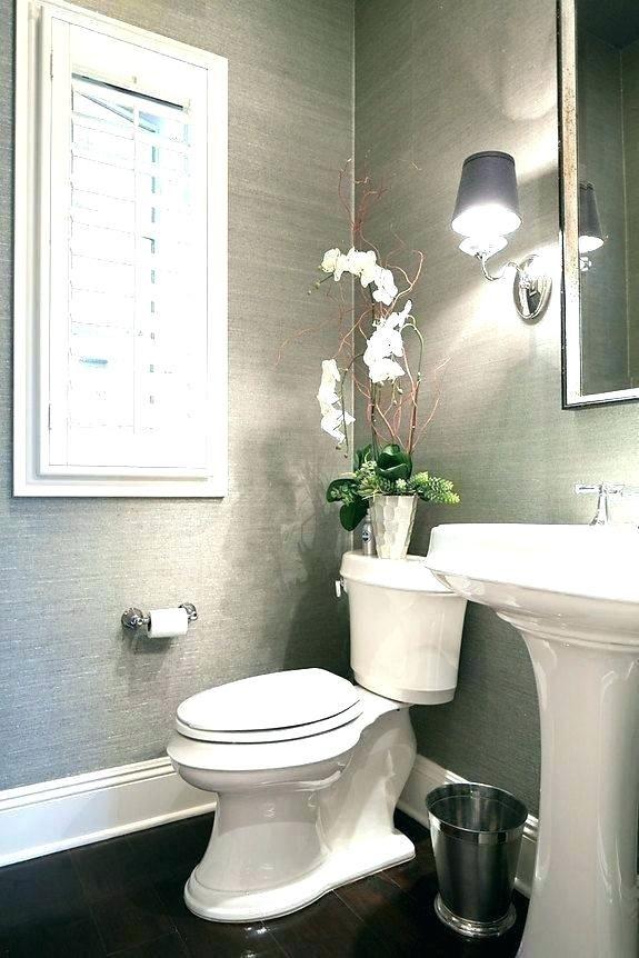 Bathroom Wallpaper Ideas Black And White Bathroom Wallpaper Wallpaper Bathrooms I Country Bathroom Decor Half Bathroom Decor French Country Decorating Bathroom