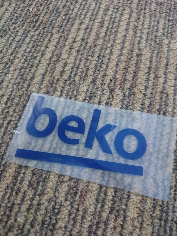 Beko Navy Patch