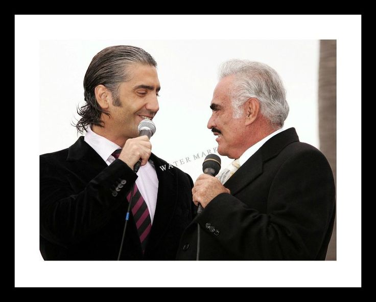VICENTE FERNANDEZ 11X14 Photo Print w/ Son ALEJANDRO Concert  Mexican Music | Entertainment Memorabilia, Movie Memorabilia, Photographs | eBay!