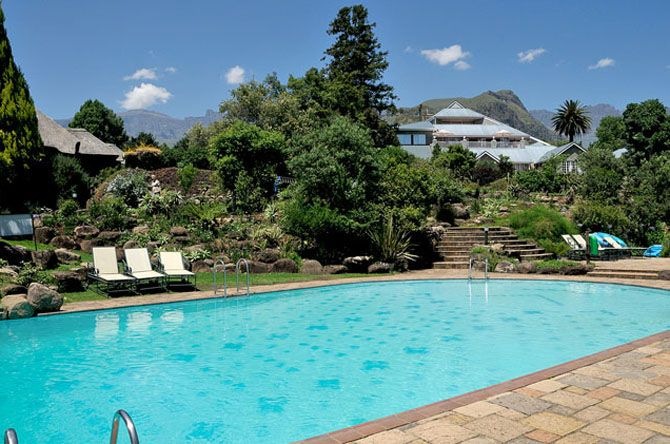 Cathedral Peak Hotel Scenic Retreat in South Africa