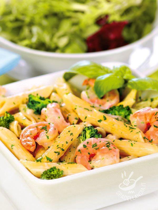Facili da preparare e molto gustose, le Penne ai broccoli e gamberetti soddisfano il palato di tutta la famiglia e sono ricche di sostanze nutrienti.