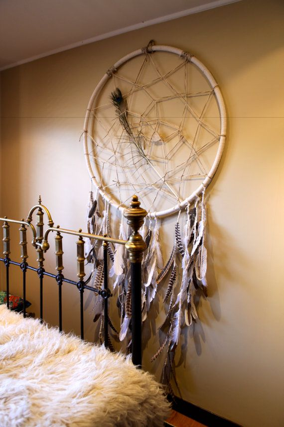 Incredible Giant Dream Catchers CUSTOM ORDERS by LOVEHEARTVINTAGE