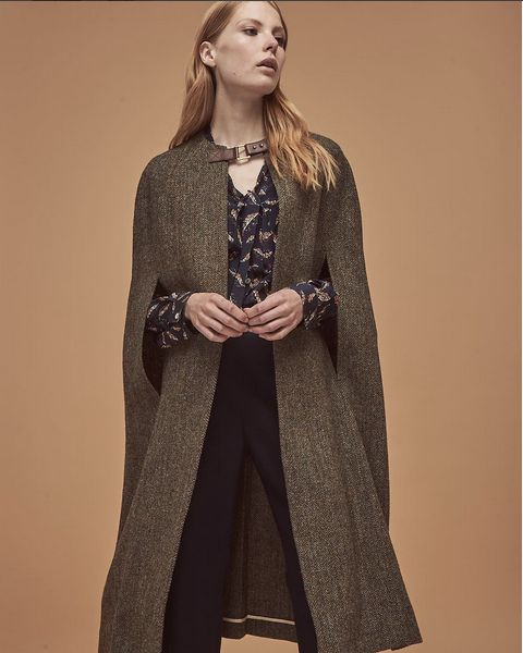#longline #sands&hall #tweed #harristweed #hepburnearth #luxury #cape #heritage #womensfashion #autumnfashion #winterfashion #fashion #style