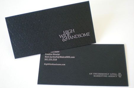 HWH Business Card.