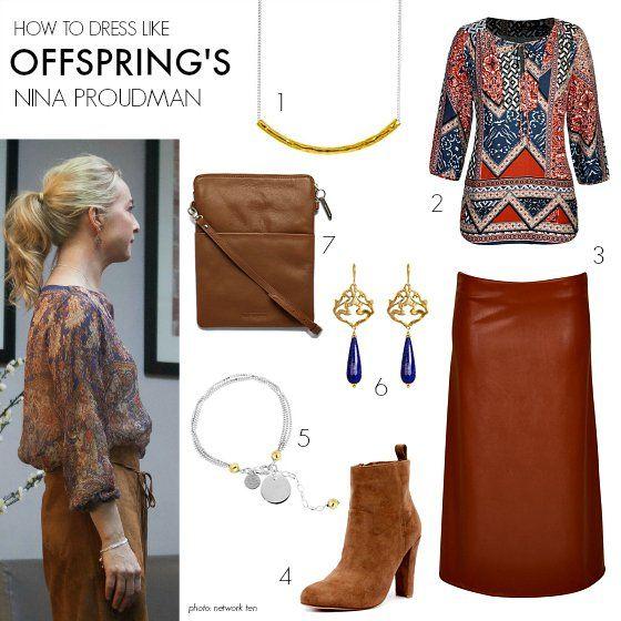 How to dress like Offspring's Nina Proudman Series 6 Ep5