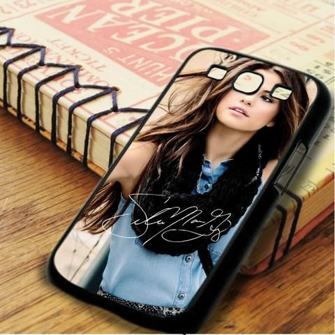 Selena Gomez Singer Beautiful Signature Samsung Galaxy S3 Case