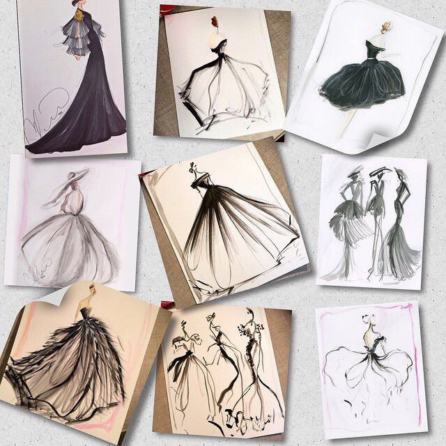 Sketch of the day: a few black and white sketches that I love! Select prints now available at our online store. www.christiansiriano.com #cssketch