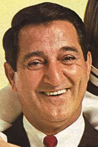 Danny Thomas (born Amos Muzyad Yakhoob Kairouz; January 6, 1912 – February 6, 1991) was an Lebanese American nightclub comedian and television and film actor, best known for starring in the television sitcom Make Room for Daddy (also known as The Danny Thomas Show). He was also the founder of St. Jude Children's Research Hospital. Thomas enjoyed a successful 13-year run (1953–1965) on Make Room for Daddy, later known as The Danny Thomas Show. He died in 1991, of heart failure at age 79.
