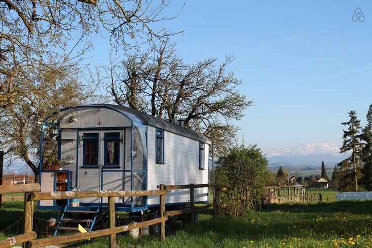 Zirkuswagen in Thurgau (and other unusual Airbnb rentals in Switzerland)