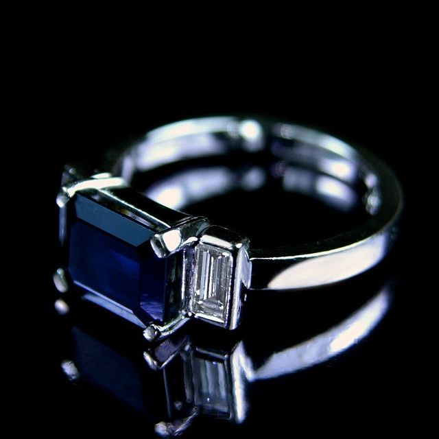 First and foremost, the color blue is associated with feelings of sympathy, harmony, friendship and loyalty. It represents steadfastness and reliability.  Second, sapphire stone itself represents sincerity and faithfulness.