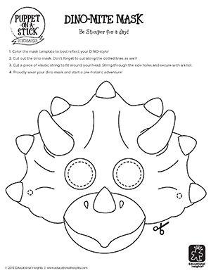 Dino-Mask-Template