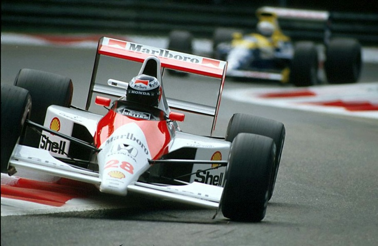 Gerhard Berger - Mclaren Honda