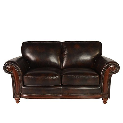 Lazzaro Century Loveseat 70 By 39 By 37 Inch Toblerone Living