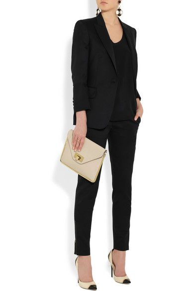 17 best ideas about black pant suit on pinterest pant suits business fashion professional and - Stella mccartney head office ...
