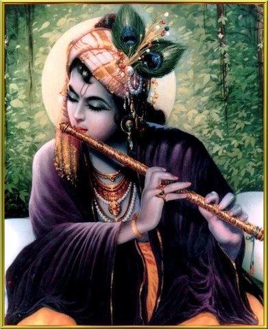 Krsna's flute.