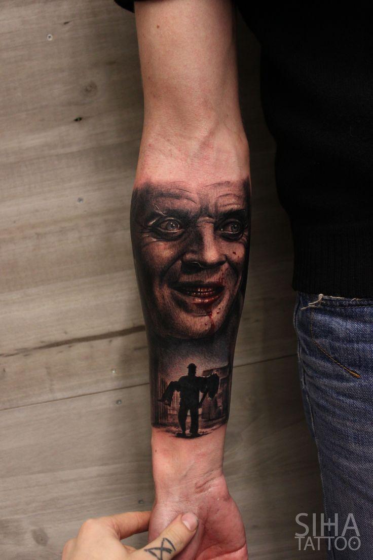 Die besten 25 hannibal tattoo ideen auf pinterest flash tattoo vogelsch delt towierung und - Hannibal lecter zitate ...
