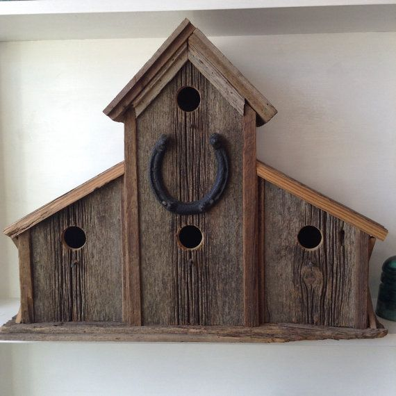 What are you waiting for! This birdhouse would look beautiful for a garden or porch decoration. Invite your feathery friends back home this spring