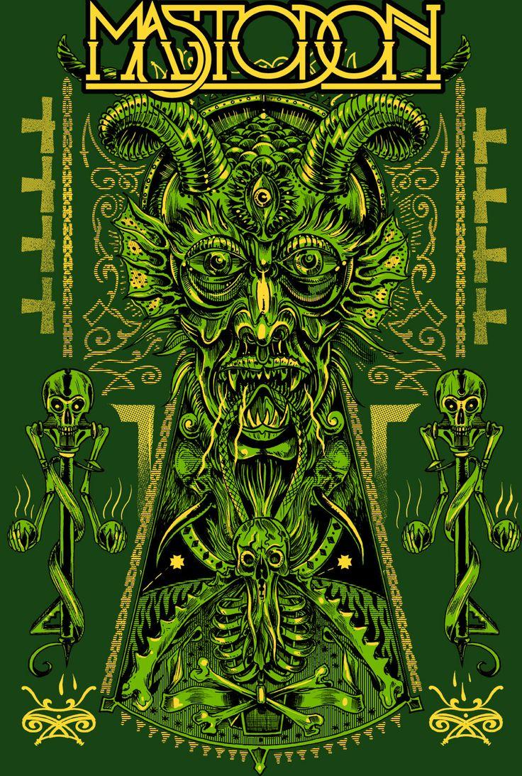 metal band artwork | New Work by Rafal Wechterowicz « Poster « Metal Band Art