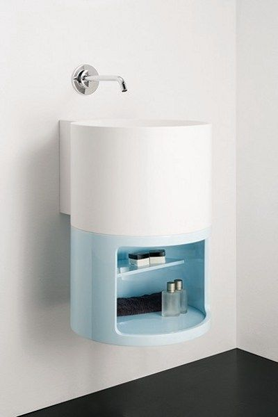 Solid Surface® #washbasin TAMBO by INBANI | #design Sergio Rochas
