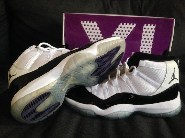 Concord Air Jordan XI, Patten Leather, White/Black