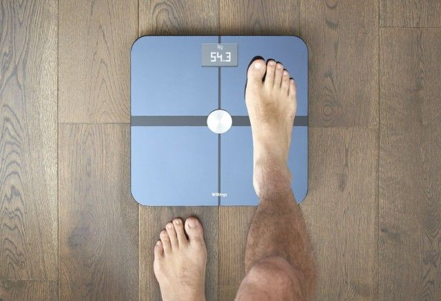 Enforce your accountability with the Withings Wi-Fi Body Scale. This scale auto-tweets your followers with the results of your weigh-ins. It also connects to iOS so you can monitor your body fat percentage, weight, and body mass index.