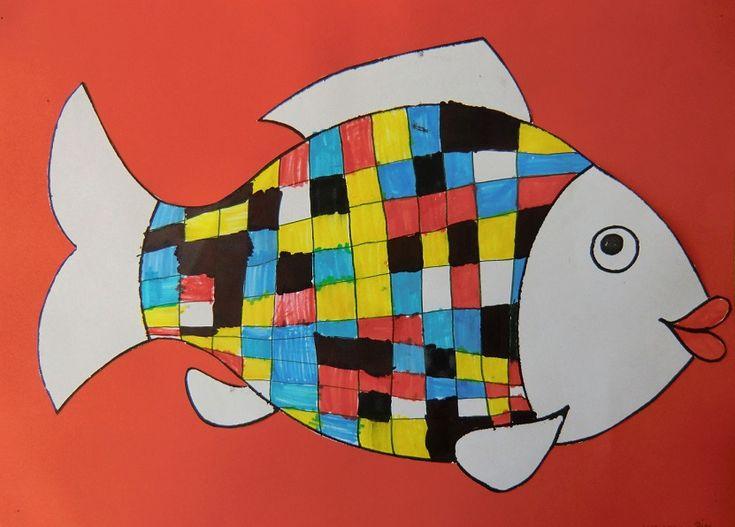 Ryby podle P. Mondriana
