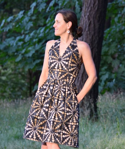 Release of The Rose City Halter Dress Pattern! – Sew House Seven
