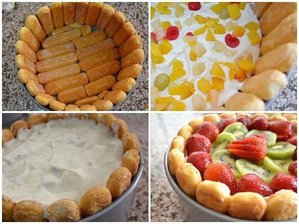 20 perc alatt is lehet nagyon finom és esztétikus tortát készíteni!