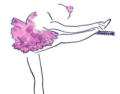 "Check out new work on my @Behance portfolio: ""Little ballerina"" http://be.net/gallery/57493039/Little-ballerina"