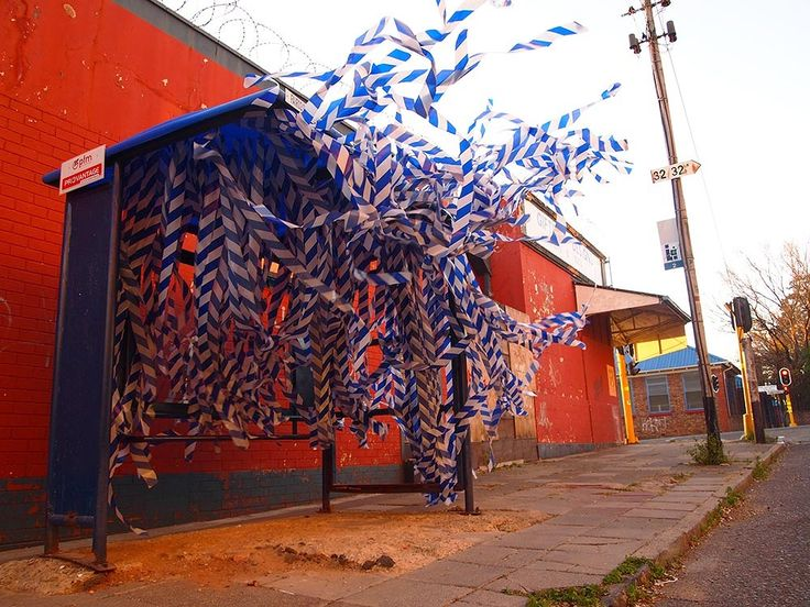URBAN INTERVENTION BY R1. Johannesburg, South Africa,