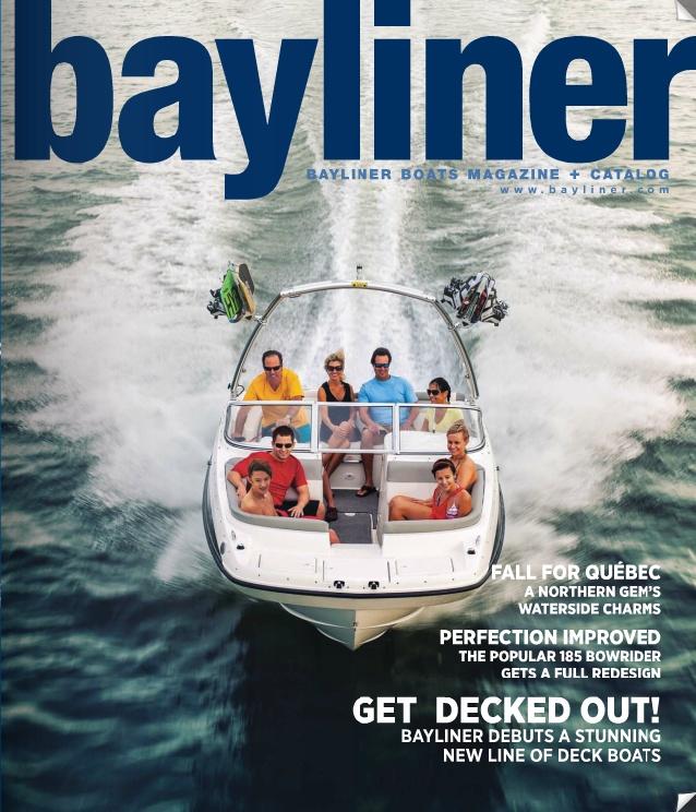 Bayliner Magalog - Fall 2012 #boating #bayliner #magazine