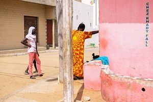 Instagram snapshots: Adrian Morris in Dakar, Senegal