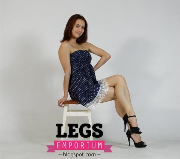Natalya of Legs Emporium showing off her wonderfully meaty ...